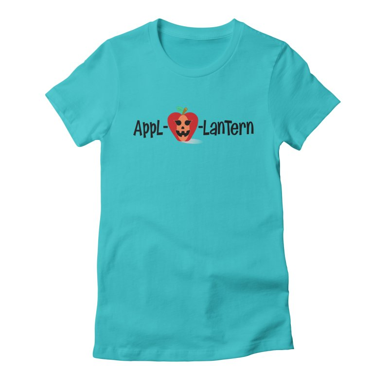 Appl-o-lantern Women's Fitted T-Shirt by PickaCS's Artist Shop