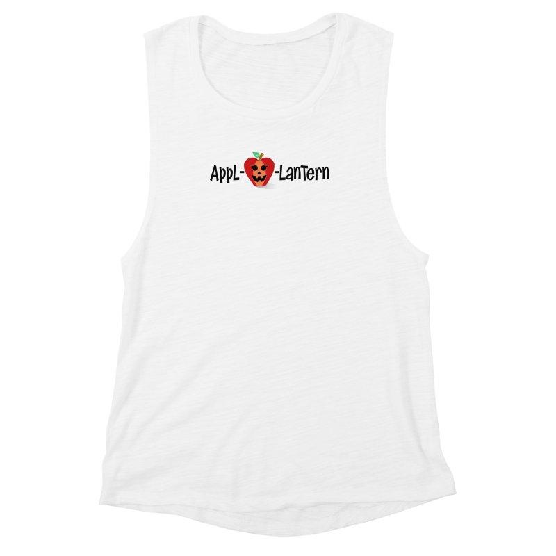 Appl-o-lantern Women's Muscle Tank by PickaCS's Artist Shop