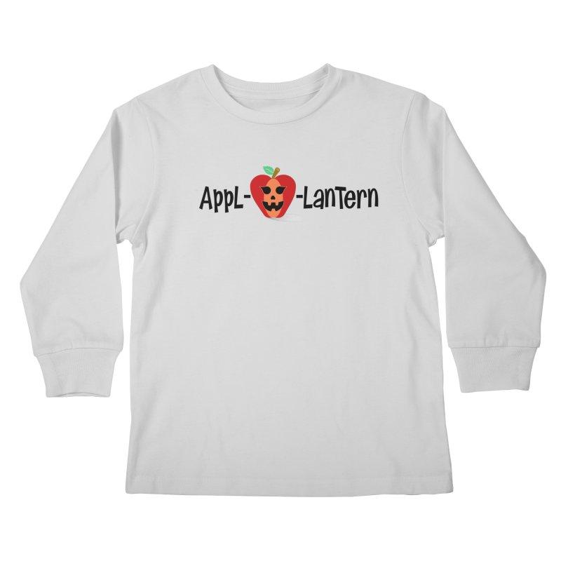 Appl-o-lantern Kids Longsleeve T-Shirt by PickaCS's Artist Shop