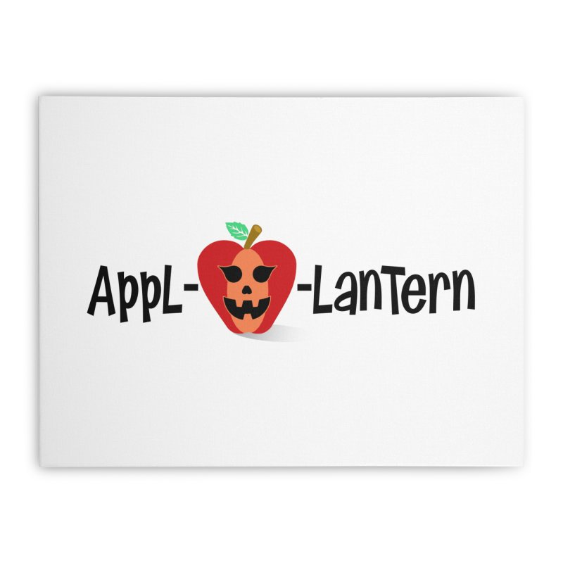 Appl-o-lantern Home Stretched Canvas by PickaCS's Artist Shop