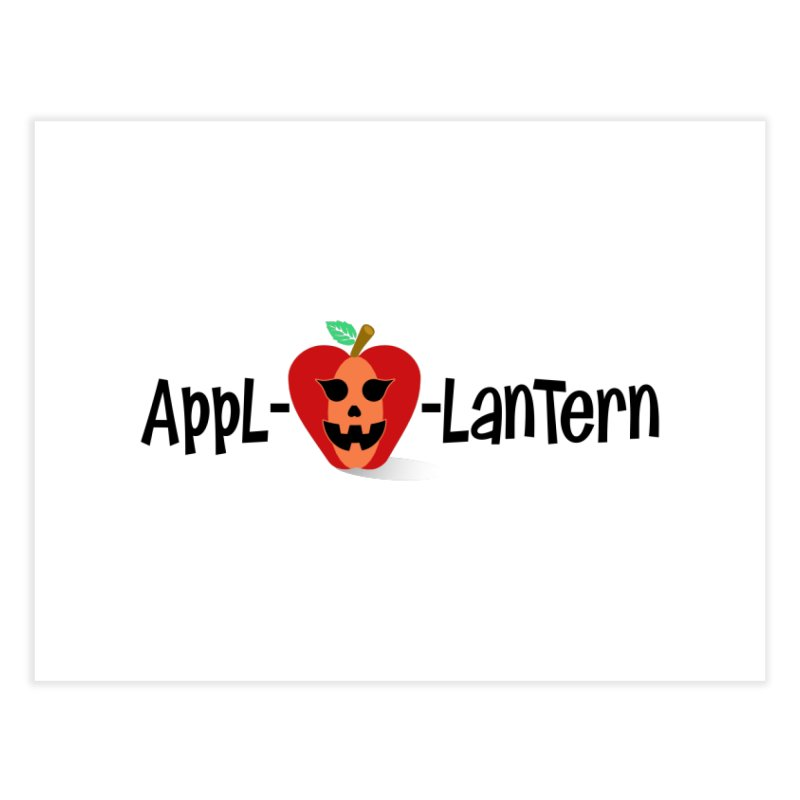 Appl-o-lantern Home Fine Art Print by PickaCS's Artist Shop