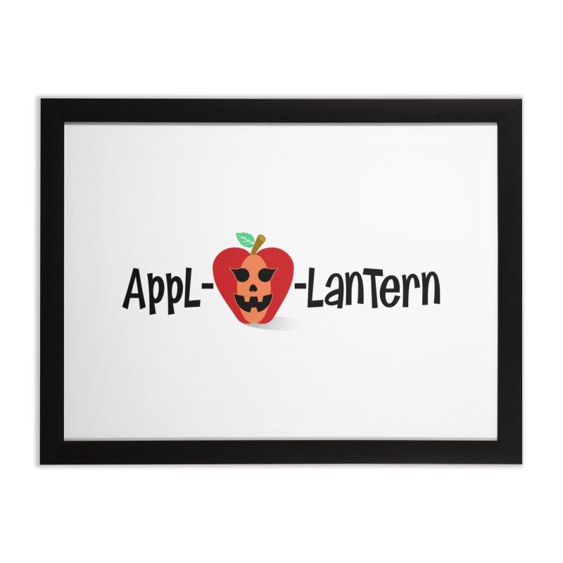 Appl-o-lantern Home Framed Fine Art Print by PickaCS's Artist Shop