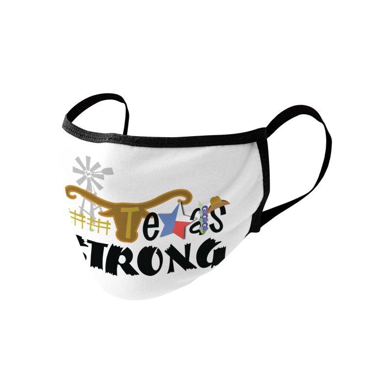 #TexasSTRONG Accessories Face Mask by PickaCS's Artist Shop