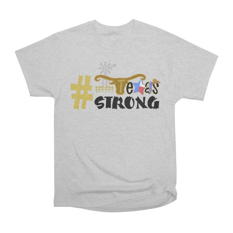 #TexasSTRONG Men's T-Shirt by PickaCS's Artist Shop