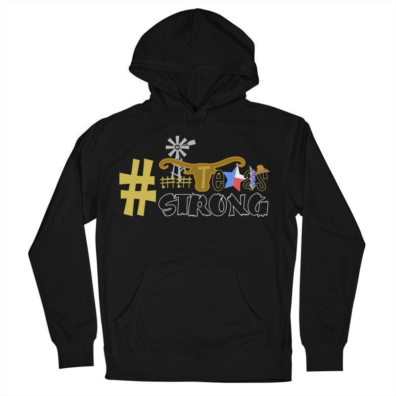 #TexasSTRONG Men's Pullover Hoody by PickaCS's Artist Shop