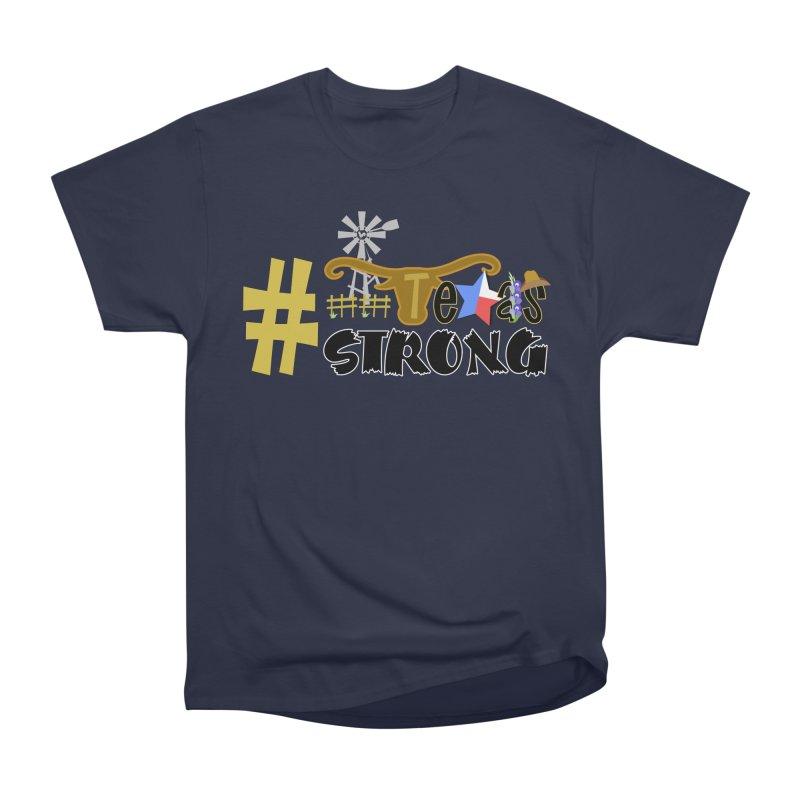 #TexasSTRONG Men's Classic T-Shirt by PickaCS's Artist Shop