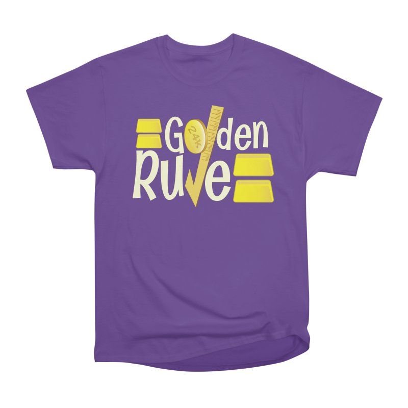 The Golden RULE Men's Classic T-Shirt by PickaCS's Artist Shop