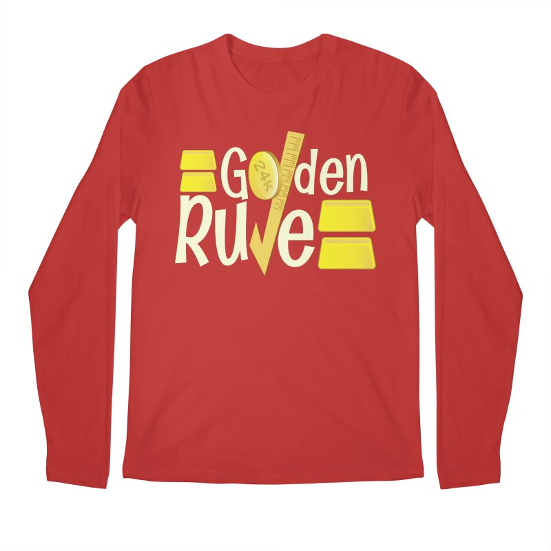 The Golden RULE Men's Longsleeve T-Shirt by PickaCS's Artist Shop