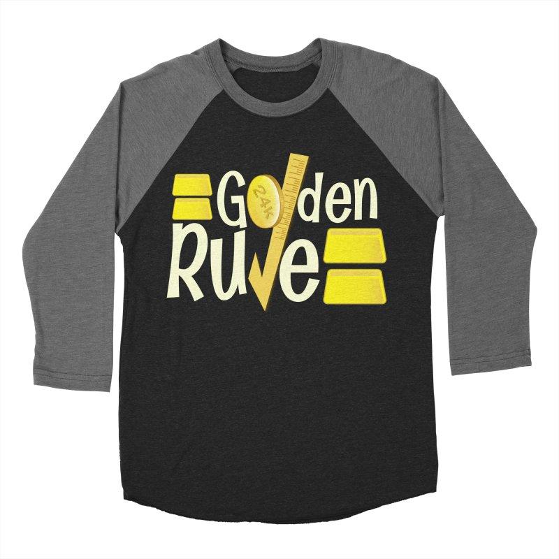 The Golden RULE Men's Baseball Triblend T-Shirt by PickaCS's Artist Shop