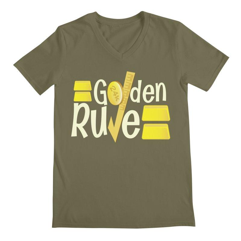 The Golden RULE Men's V-Neck by PickaCS's Artist Shop