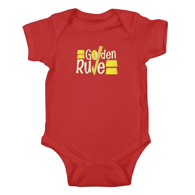 The Golden RULE Kids Baby Bodysuit by PickaCS's Artist Shop