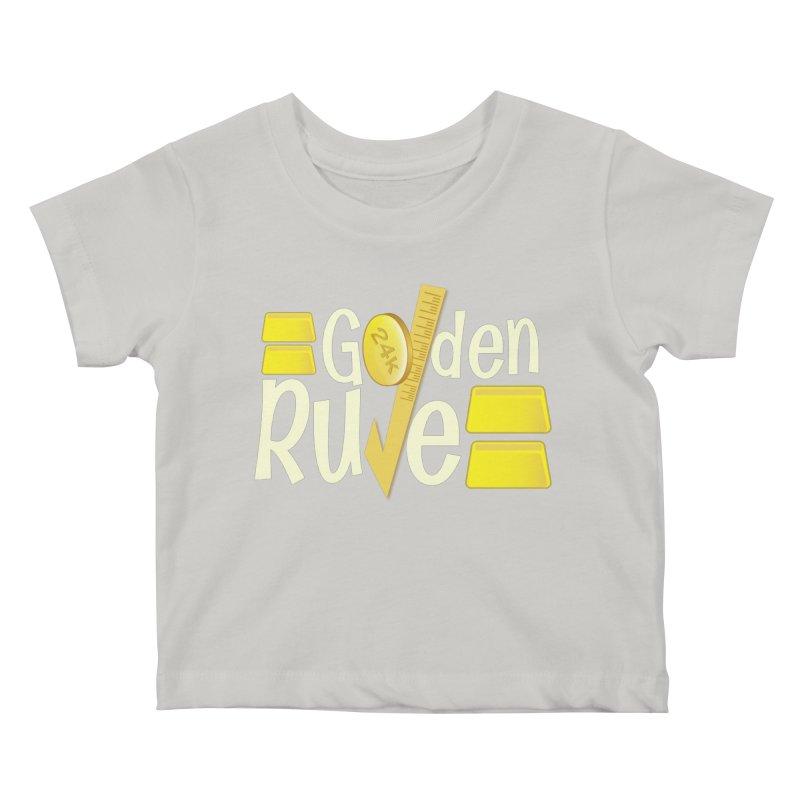 The Golden RULE Kids Baby T-Shirt by PickaCS's Artist Shop