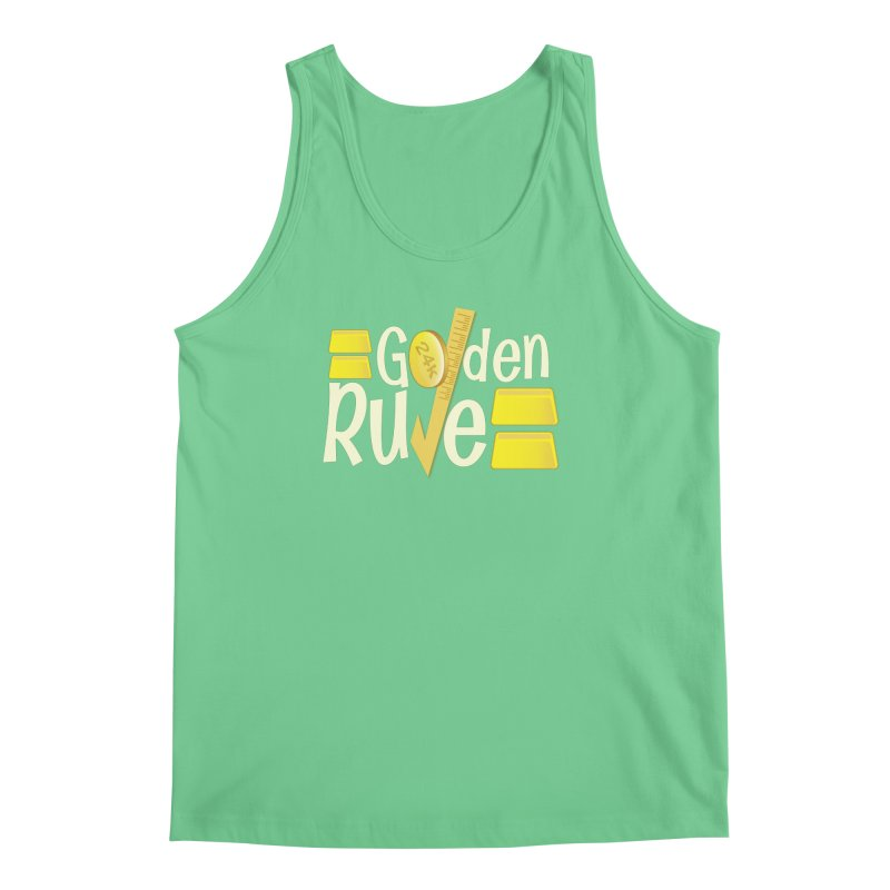 The Golden RULE Men's Tank by PickaCS's Artist Shop