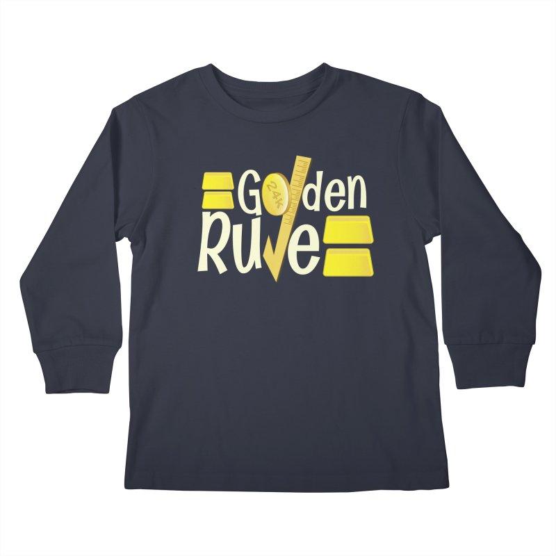 The Golden RULE Kids Longsleeve T-Shirt by PickaCS's Artist Shop