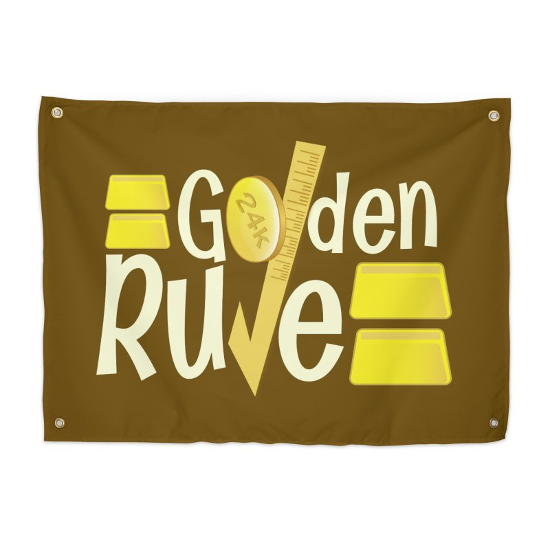 The Golden RULE Home Tapestry by PickaCS's Artist Shop