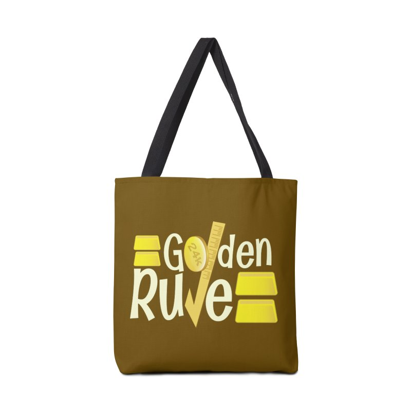 The Golden RULE Accessories Bag by PickaCS's Artist Shop