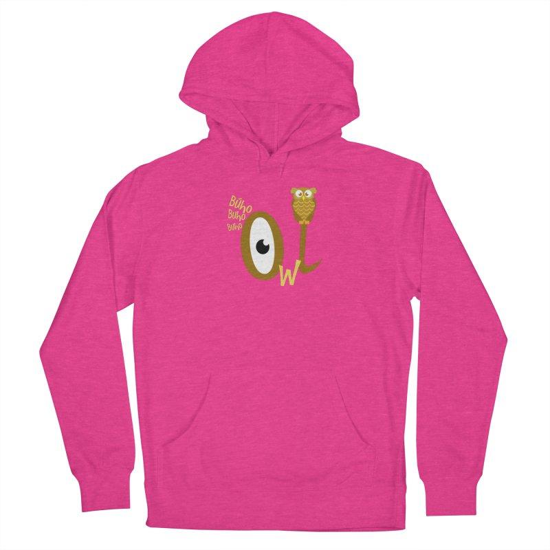 Búho Women's Pullover Hoody by PickaCS's Artist Shop