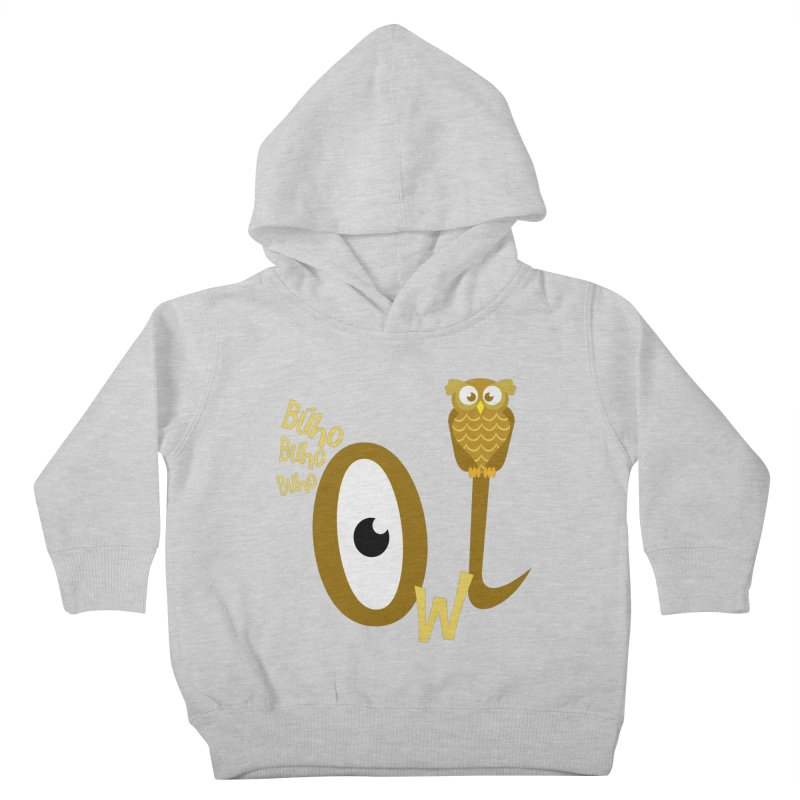 Búho Kids Toddler Pullover Hoody by PickaCS's Artist Shop