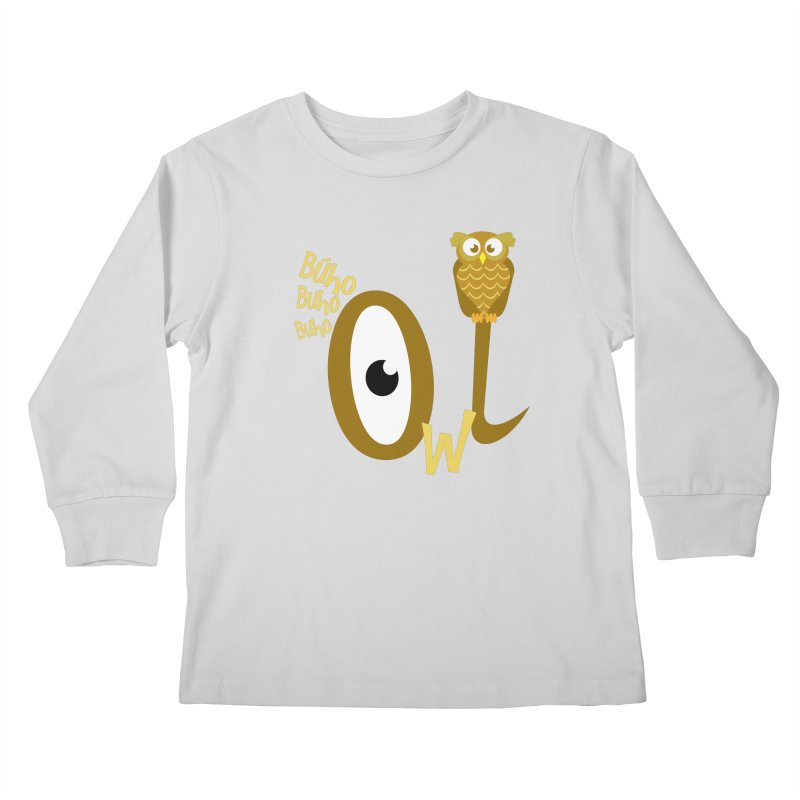 Búho Kids Longsleeve T-Shirt by PickaCS's Artist Shop