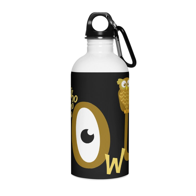 Búho Accessories Water Bottle by PickaCS's Artist Shop