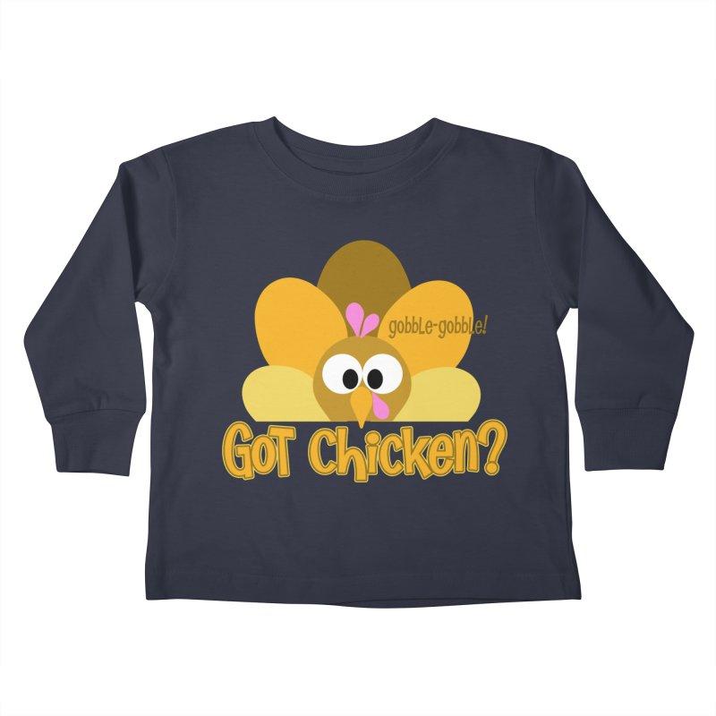 GObble-gobble! Kids Toddler Longsleeve T-Shirt by PickaCS's Artist Shop