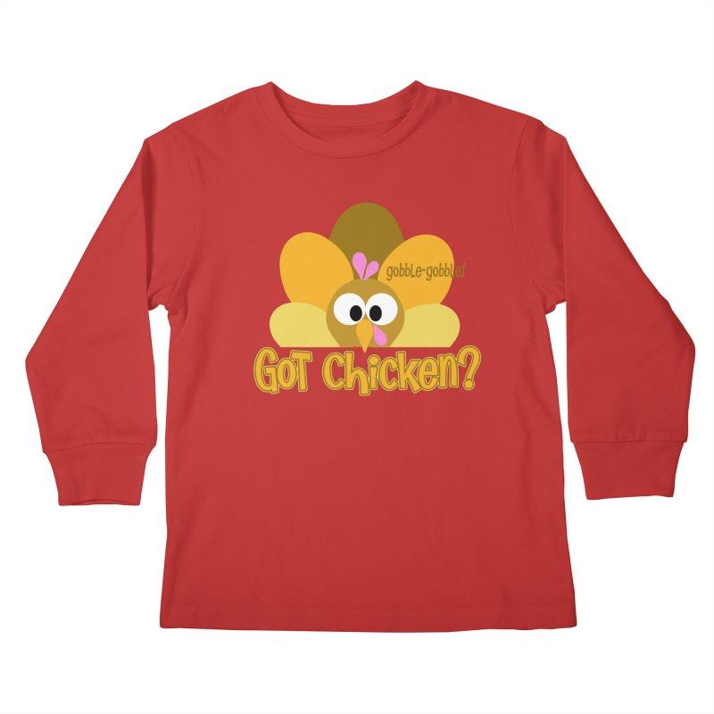 GObble-gobble! Kids Longsleeve T-Shirt by PickaCS's Artist Shop