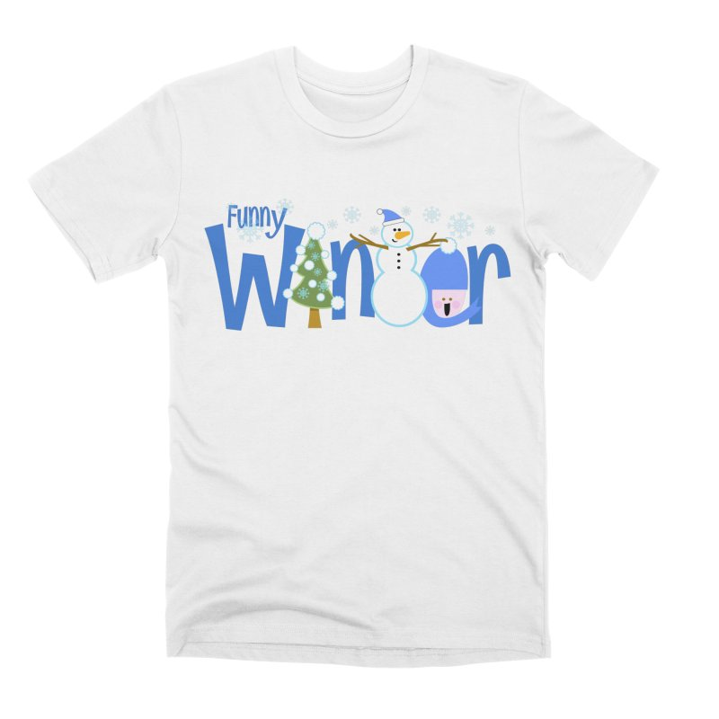 Funny Winter Men's T-Shirt by PickaCS's Artist Shop