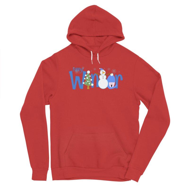 Funny Winter Men's Pullover Hoody by PickaCS's Artist Shop