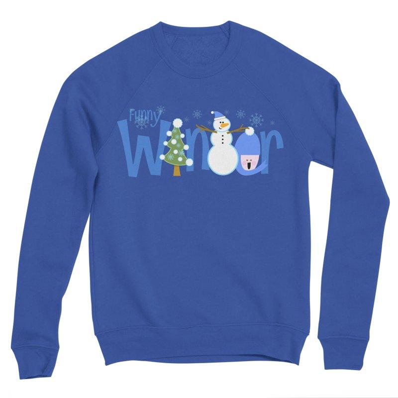 Funny Winter Women's Sponge Fleece Sweatshirt by PickaCS's Artist Shop