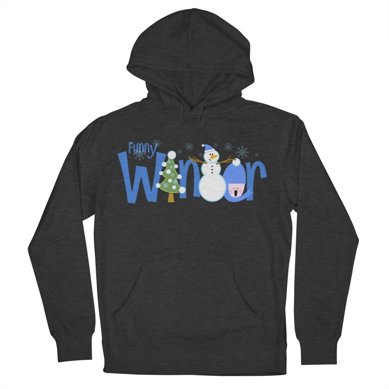 Funny Winter Women's Pullover Hoody by PickaCS's Artist Shop