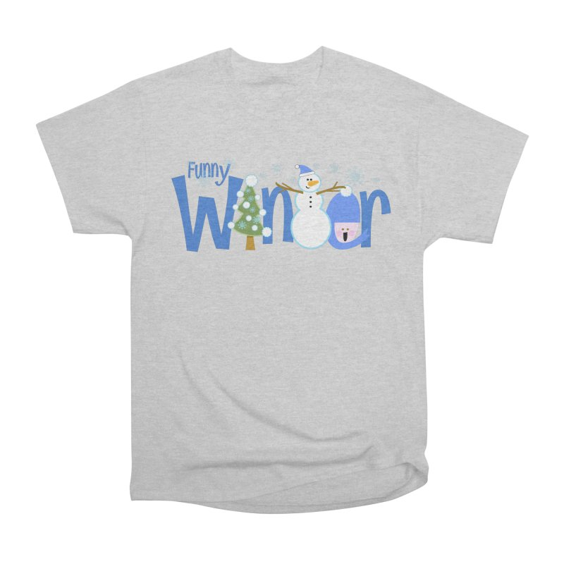 Funny Winter Men's Classic T-Shirt by PickaCS's Artist Shop