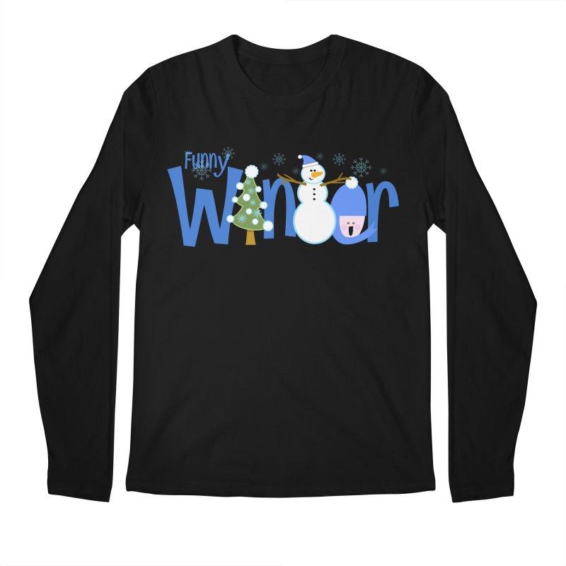 Funny Winter Men's Longsleeve T-Shirt by PickaCS's Artist Shop