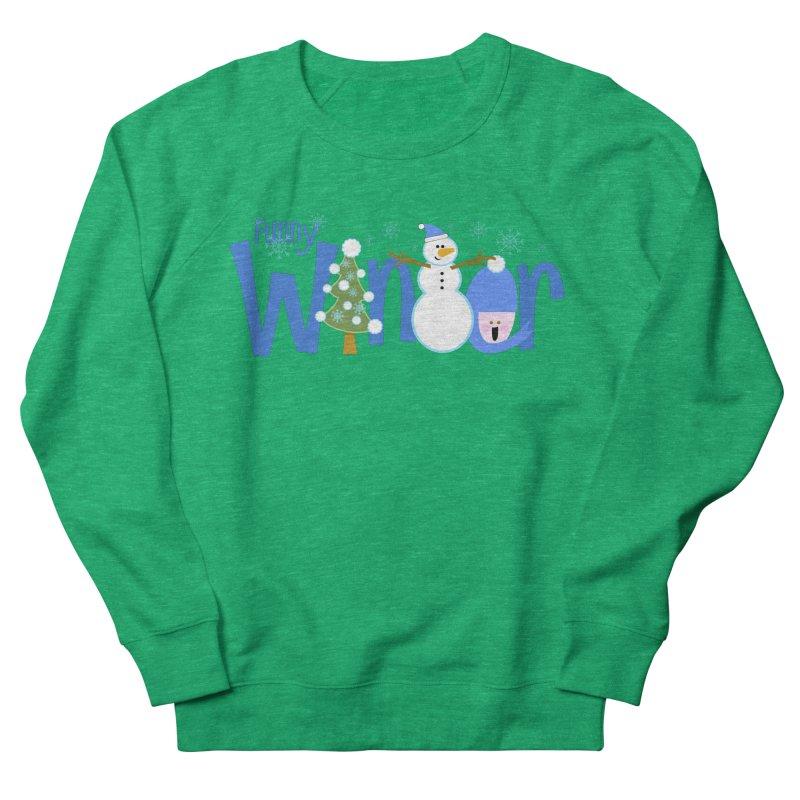 Funny Winter Women's Sweatshirt by PickaCS's Artist Shop