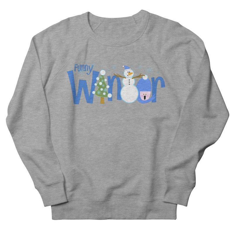 Funny Winter Men's Sweatshirt by PickaCS's Artist Shop