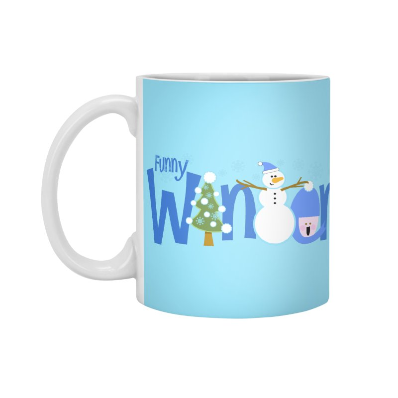 Funny Winter Accessories Mug by PickaCS's Artist Shop