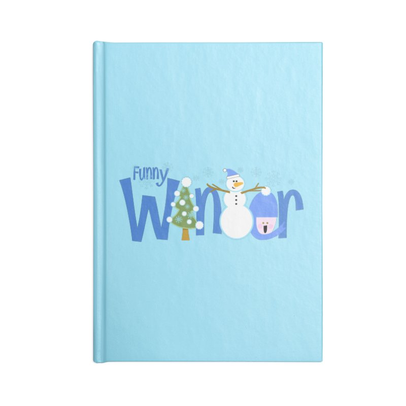 Funny Winter Accessories Notebook by PickaCS's Artist Shop