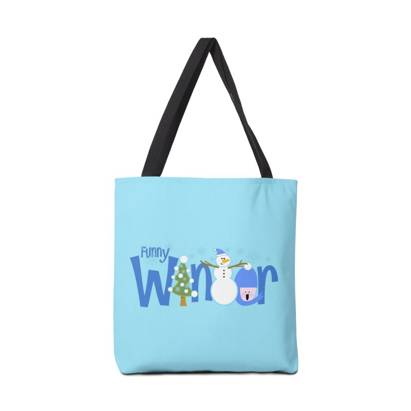Funny Winter Accessories Bag by PickaCS's Artist Shop