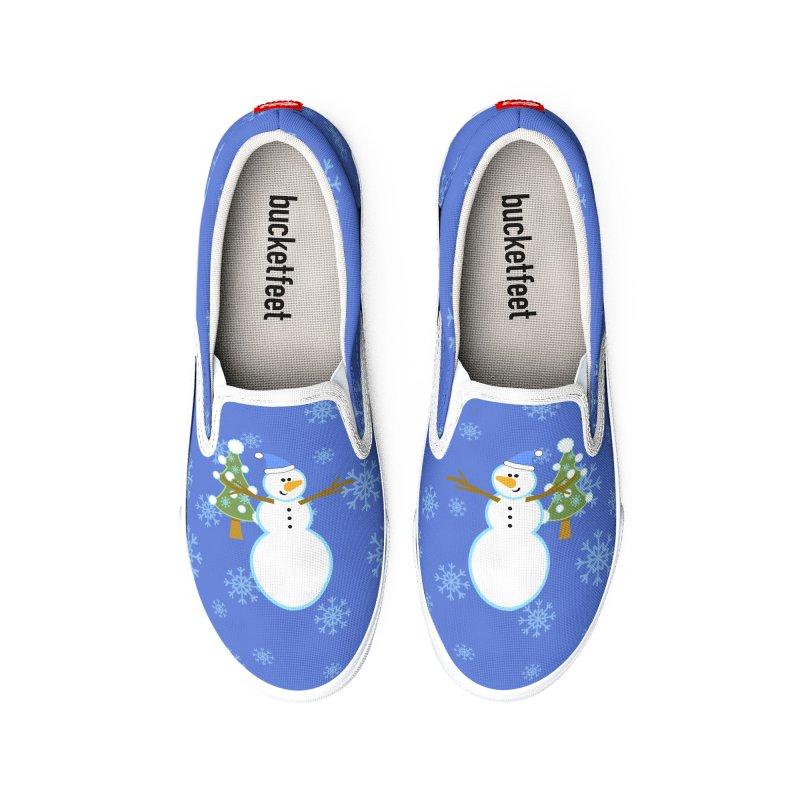 Funny Winter Men's Shoes by PickaCS's Artist Shop