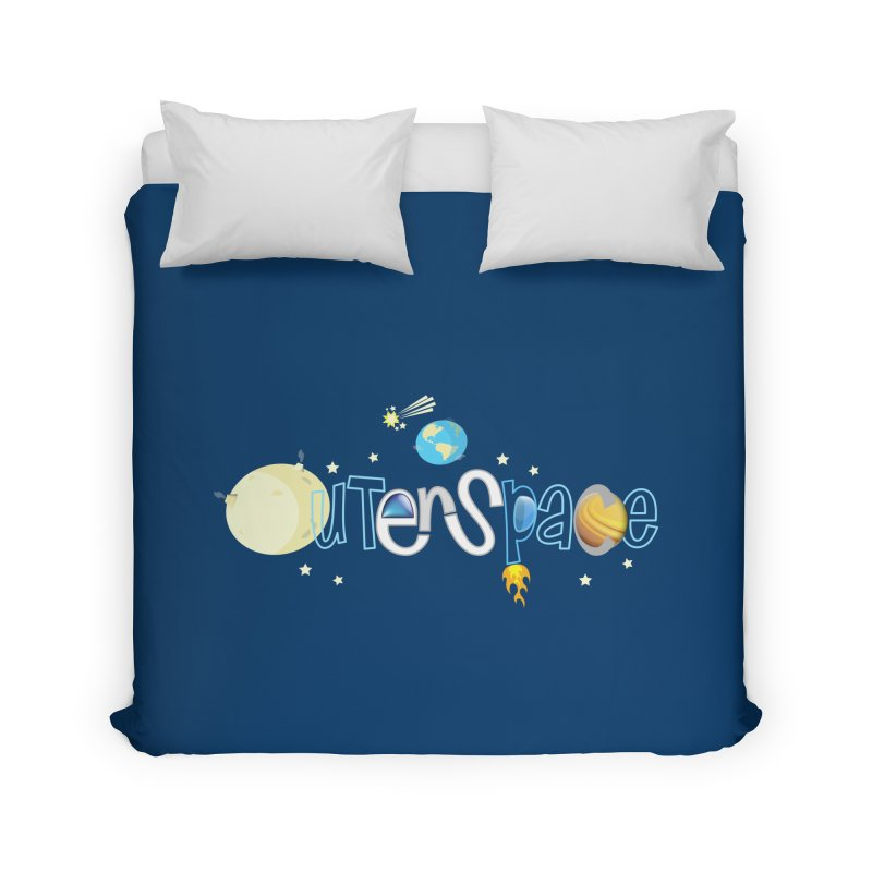 OuterSpace Home Duvet by PickaCS's Artist Shop