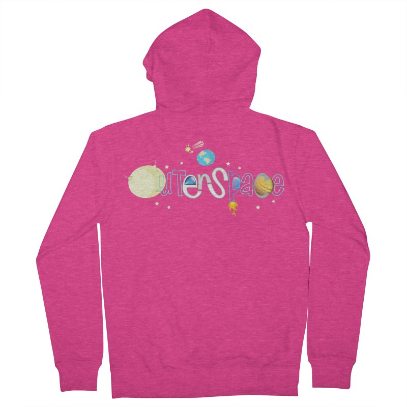 OuterSpace Women's Zip-Up Hoody by PickaCS's Artist Shop