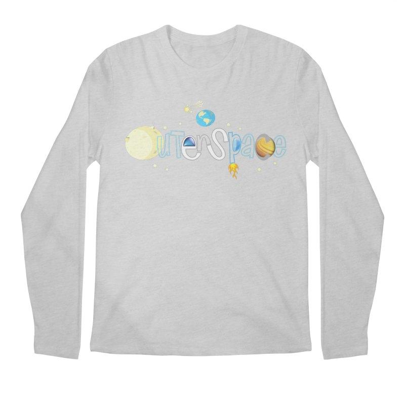 OuterSpace Men's Longsleeve T-Shirt by PickaCS's Artist Shop