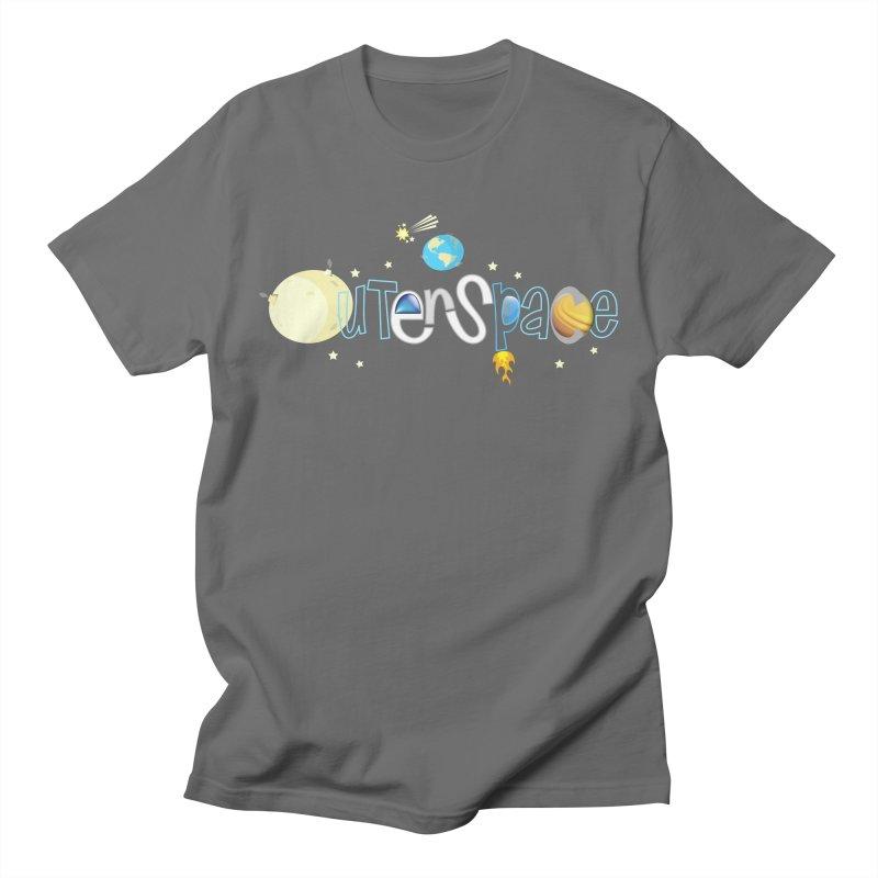 OuterSpace Men's T-Shirt by PickaCS's Artist Shop