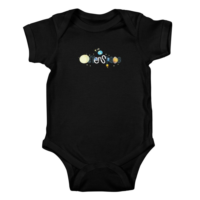 OuterSpace Kids Baby Bodysuit by PickaCS's Artist Shop
