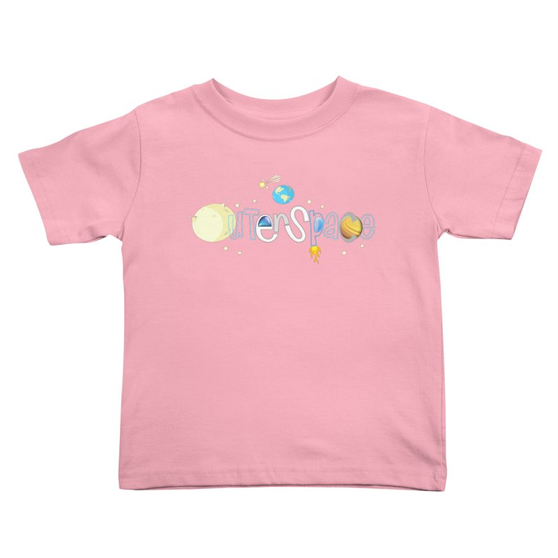 OuterSpace Kids Toddler T-Shirt by PickaCS's Artist Shop