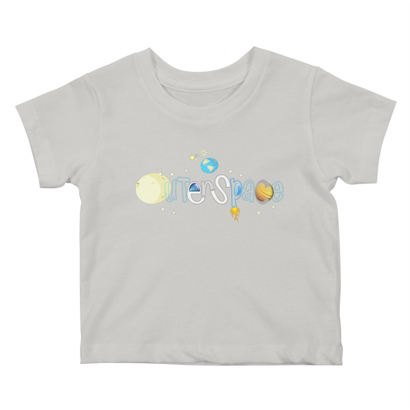 OuterSpace Kids Baby T-Shirt by PickaCS's Artist Shop
