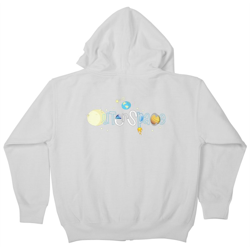 OuterSpace Kids Zip-Up Hoody by PickaCS's Artist Shop