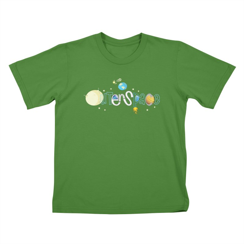 OuterSpace Kids T-Shirt by PickaCS's Artist Shop