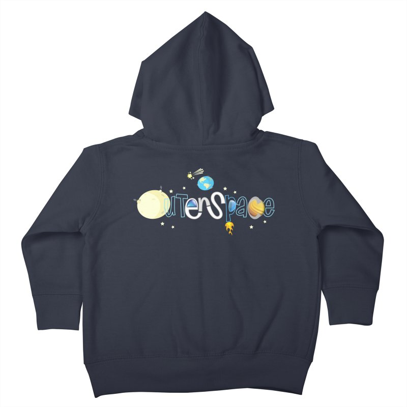 OuterSpace Kids Toddler Zip-Up Hoody by PickaCS's Artist Shop
