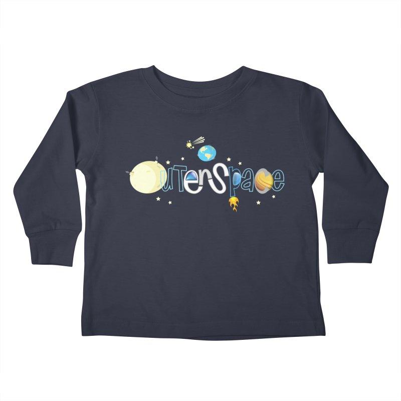 OuterSpace Kids Toddler Longsleeve T-Shirt by PickaCS's Artist Shop