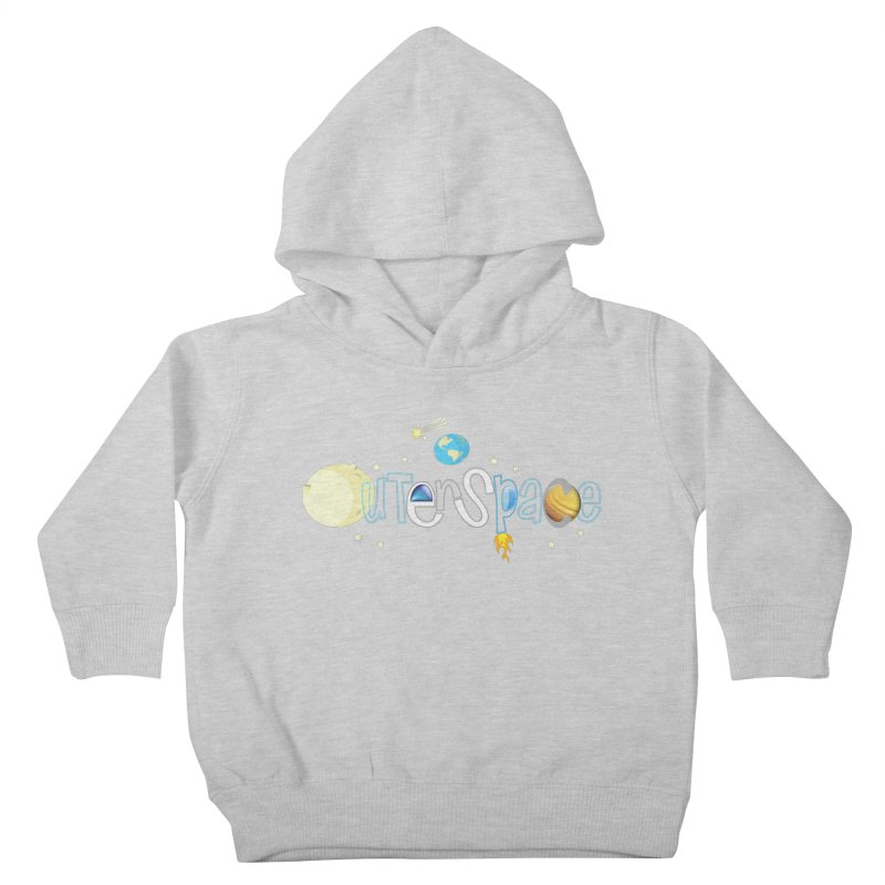 OuterSpace Kids Toddler Pullover Hoody by PickaCS's Artist Shop